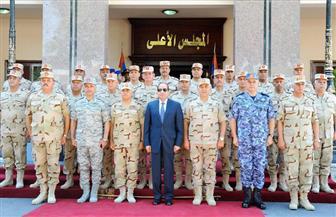 السيسي يشيد بنجاح رجال القوات المسلحة في إحباط العمليات الإرهابية
