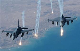 الطيران العراقي يقصف خطوط إمداد داعش غربي الأنبار