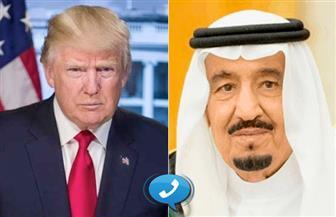 خادم الحرمين الشريفين يبحث هاتفيًا مع الرئيس الأمريكي تطورات الأوضاع في المنطقة