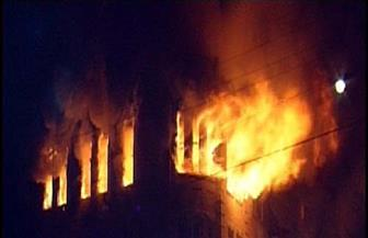 السيطرة على حريق التهم حظيرة مواشى بالمنوفية