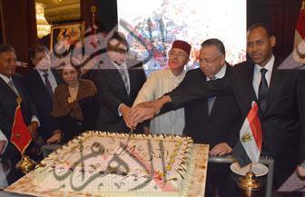 بالصور.. وزراء وسفراء فى عيد جلوس العرش المغربى