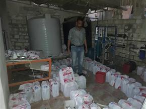 """""""مياه مطروح""""تضبط 9 وصلات لسرقة مياه الشرب ببعض شاليهات قرية مارينا"""