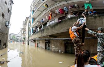 مصرع وفقدان 36 شخصًا وإجلاء الآلاف بسبب فيضانات الصين