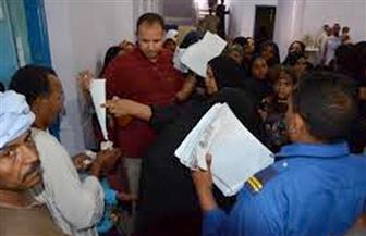 تحويل 75 حالة للكشف الطبي للحصول على معاش وصرف 2600 جنيه إغاثة عاجلة بساحل سليم