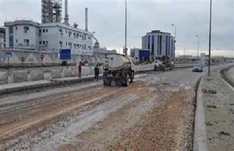 محافظ الإسكندرية يطلب سرعة الانتهاء من أعمال تطوير طريق وادي القمر