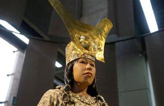 """""""الثقافة"""" في بيرو تكشف عن نسخة مقلدة لوجه حاكمة قديمة عمرها 1700عام"""