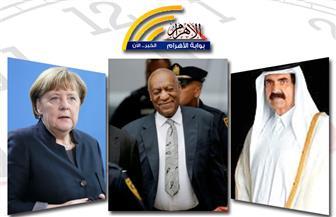 """نشاط الرئيس ..إحباط هجوم إرهابي برفح..افتتاح قمة العشرين..إصابة أمير قطر..محاكمة """"كوسبي"""" بنشرة  الظهيرة"""