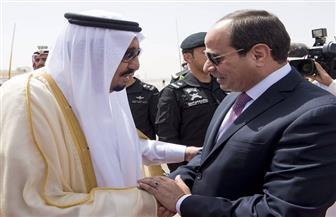 """وصول الرئيس السيسي لمشاهدة العرض الختامى لمناورة """"درع الخليج"""""""