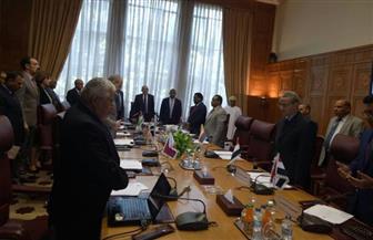 المجلس التنفيذي للمنظمة العربية للتنمية الزراعية يقف دقيقة حداد على أرواح شهداء رفح