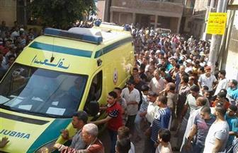 """قرية كفر داوود بـ""""السادات"""" تستعد لتشيع جثمان الشهيد النقيب أحمد فهمي"""