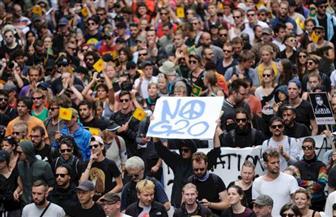 مظاهرات احتجاجية في ألمانيا بعد مقتل فتاة في الخامسة عشرة على يد شاب من اللاجئين