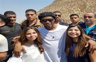 رونالدينيو: مصر بلد يجلب لي الحظ