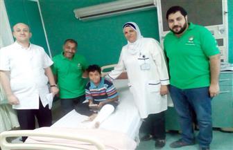 """وزيرة التضامن توجه فريق """"أطفال بلا مأوى"""" لإنقاذ طفل بعد تعرضه لحادث مرور"""