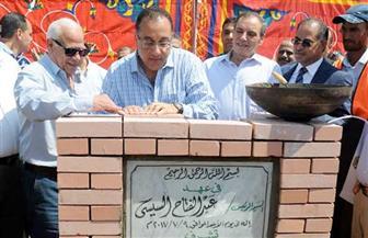 وزير الإسكان ومحافظ بورسعيد يضعان حجر أساس محطة مياه الكاب.. ووكيل البرلمان: حلم يتحقق