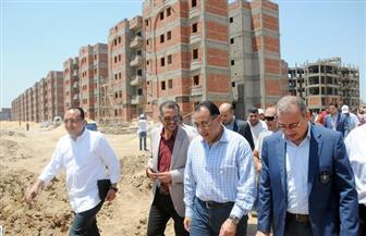 مدبولي: الانتهاء من تنفيذ 1440 وحدة سكنية بمنطقة الأمل الجديد ببورسعيد