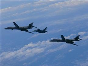 قاذفات أمريكية تحلق فوق شبه الجزيرة الكورية