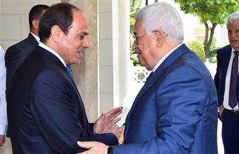 السيسي لأبو مازن: مصر لم تدخر وسعًا من أجل إقامة الدولة الفلسطينية.. وتحقيق الوحدة الوطنية وإنهاء الانقسام
