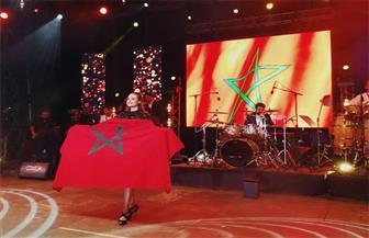 """حشد جماهيري ضخم في حفل كارول سماحة في """"عيد العرش"""" بالمغرب"""