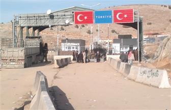 تركيا تفرض قيودًا على حركة السلع بمعبر باب الهوى على حدود سوريا