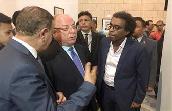 وزير الثقافة يفتتح ملتقى فنون الخط العربي بالأوبرا وسط حضور جماهيري كثيف| صور