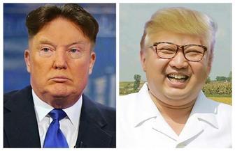 """تبادل """"تسريحة الشعر"""" بين ترامب وكيم ..هل ينقذ العالم من الحرب العالمية الثالثة؟"""