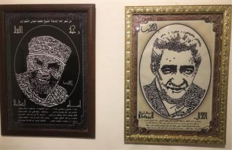 """الأبنودي والشعراوي حاضران في ملتقى الخط العربي بريشة """"خطاط الصعيد"""""""
