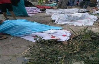 """""""إسعاف الإسكندرية"""": تسليم 33 جثة من ضحايا قطاري الإسكندرية لذويهم.. والبحث جار عن هوية 6 آخرين"""