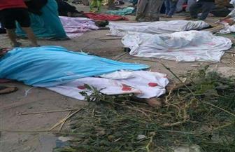 مأساة أسرة فقدت 6 أبناء فى حادث قطارى الإسكندرية وتبحث عن الجثة السابعة
