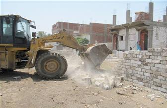 حملات لرفع الإشغالات والنظافة وإزالة التعديات في أبوتيج | صور