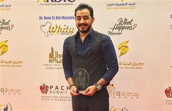 مهرجان النخبة للإعلام العربى يكرم المطرب أحمد بتشان