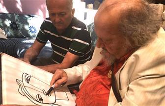 التشكيلي جورج البهجوري ضيف رواق البلقاء بالأردن | صور
