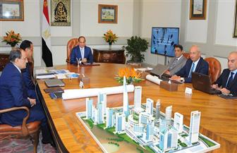 الرئيس يوجه بتنفيذ منطقة الأعمال المركزية بالعاصمة الإدارية الجديدة