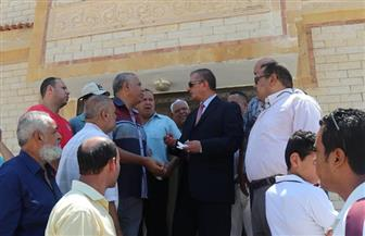 محافظ كفر الشيخ يتفقد قسم شرطة المسطحات المائية بالبرلس | فيديو