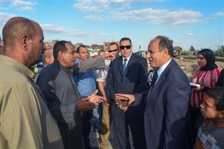 محافظ الإسكندرية يشكر أهالي عزبة الشيخ على دورهم البطولي في مساعدة مصابي القطارين