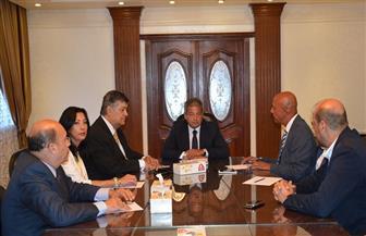 """عبدالعزيز يناقش خطة عمل """"مكافحة المنشطات"""" وإجراءات اعتماد المعمل المصري"""