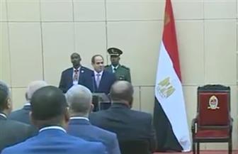 السيسي: نتخذ كافة الإجراءات والخطوات اللازمة لتعزيز التبادل بين مصر وتنزانيا