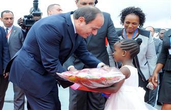 السيسي ونظيره التنزاني يتفقان على تطوير التعاون بين البلدين | صور