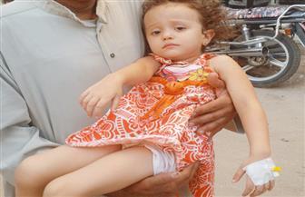 بلاغ يتهم مستشفى بسيون المركزي بالإهمال في علاج طفلة بلعت عملة معدنية | صور