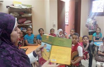"""مكتبة الطفل بمركز """"الدين الثقافي"""" تستعيد نشاطها بورش عمل وبرامج تدريبية   صور"""