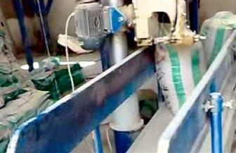 ضبط 5 أطنان أعلاف أسماك وأسمدة زراعية مجهولة المصدر بالحسينية في الشرقية