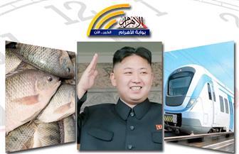 برقية الرئيس.. تراجع كيم.. القطار المكهرب.. مصرع إرهابيين.. انخفاص سعر الأسماك بنشرة الثالثة