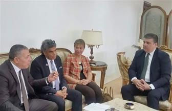 حسين زين يلتقي رؤساء روابط المصريين بألمانيا وفرنسا وجنوب إفريقيا