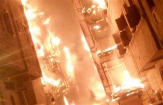 الدفاع المدني السعودي يكافح حريقًا هائلًا بالمنطقة التاريخية في جدة