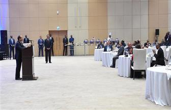 "رئيس رواندا يقيم حفل عشاء لـ""السيسى"" صور"