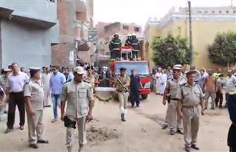 محافظ المنوفية ومدير الأمن يتقدمان جنازة الشهيد تامر عبدالحافظ بقويسنا | فيديو