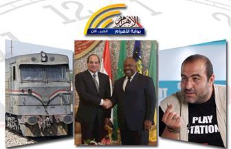 اتفاقيات مصر والجابون.. حريق بأسوان.. أزمة القطارات ببنها.. ضبط قاضٍ مرتشٍ.. بنشرة السادسة