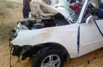 مصرع 3 أشخاص وإصابة 20 في حادث تصادم أتوبيس وسيارة ملاكي بالسويس