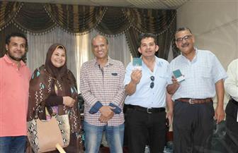 تسليم تأشيرات الحج للصحفيين في احتفالية بالنقابة | صور