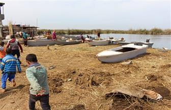 إخلاء جزيرة العزبي خلال أيام.. والسكان يشتكون من عدم إيجاد بديل | فيديو