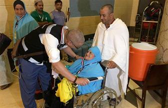 """بعثة الحج الطبية تشارك في استقبال حجاج """"التضامن"""" و""""الداخلية"""""""